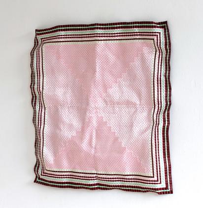 Damentaschentuch, 2016, PVC, 85 x 85 cm