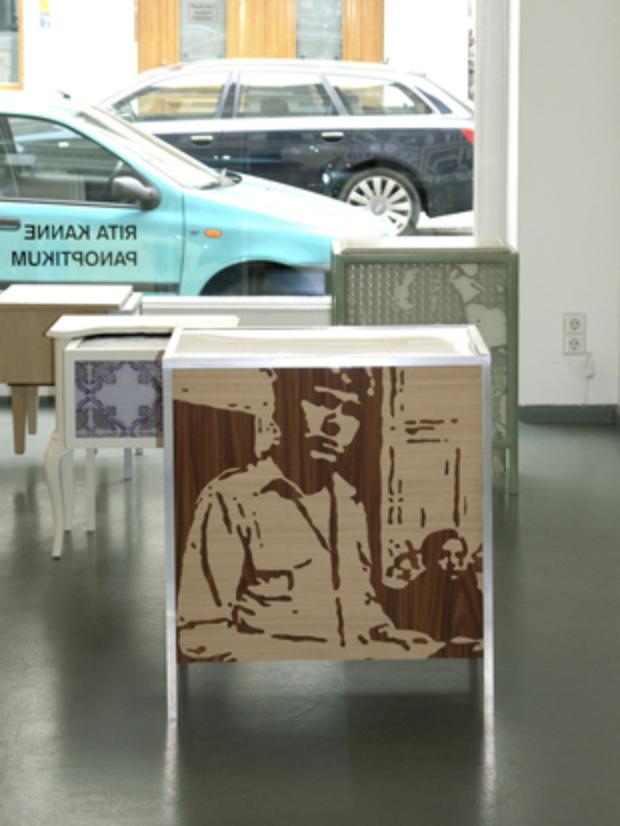 Ausstellungsansicht: Panoptikum, 2009, Rasche Ripken, Berlin