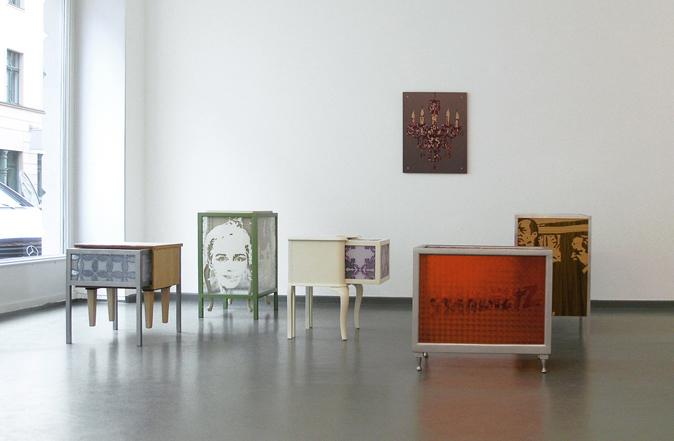 exhibition view: Panoptikum, 2009, Rasche Ripken, Berlin