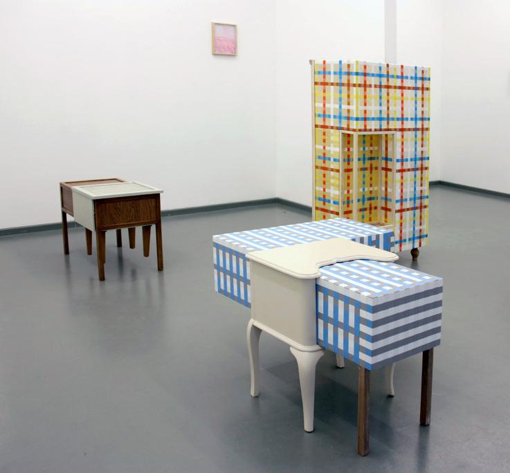 Ausstellungsansicht: muster*prozess, 2014, Rasche Ripken, Berlin