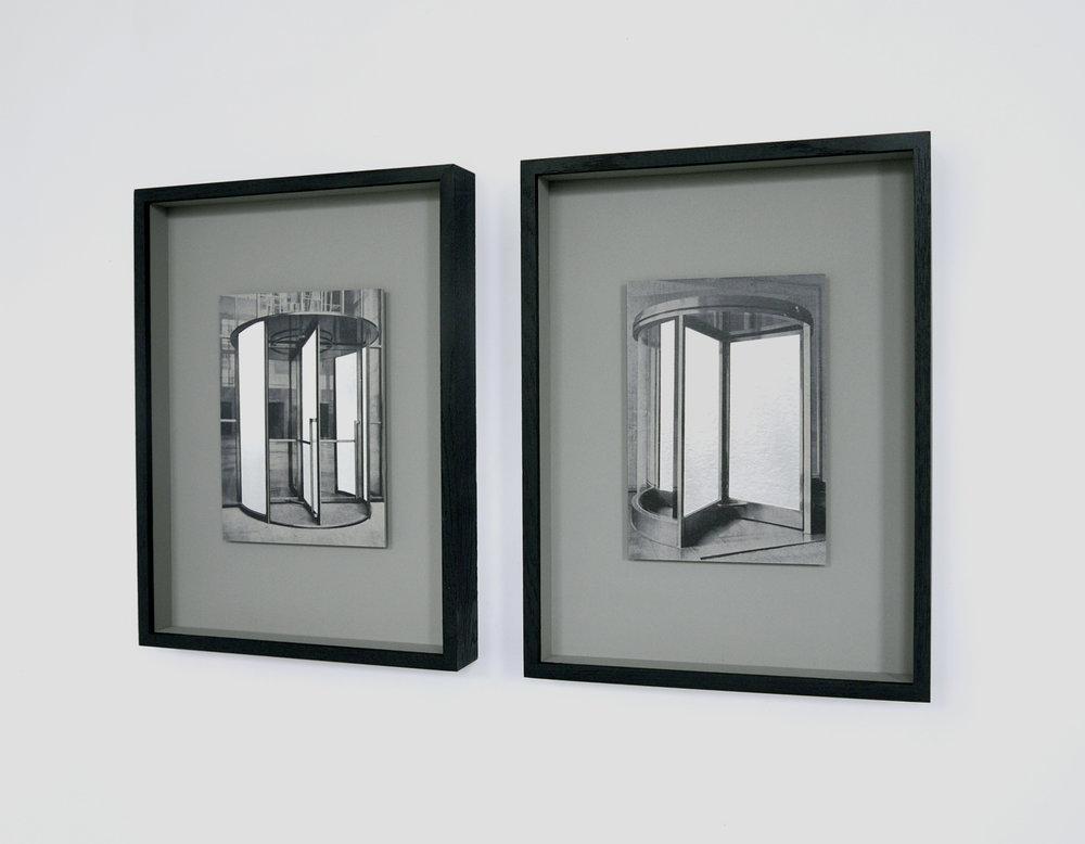 Verwandlung, 2017, silver print, each 21,5 x 15,5 cm