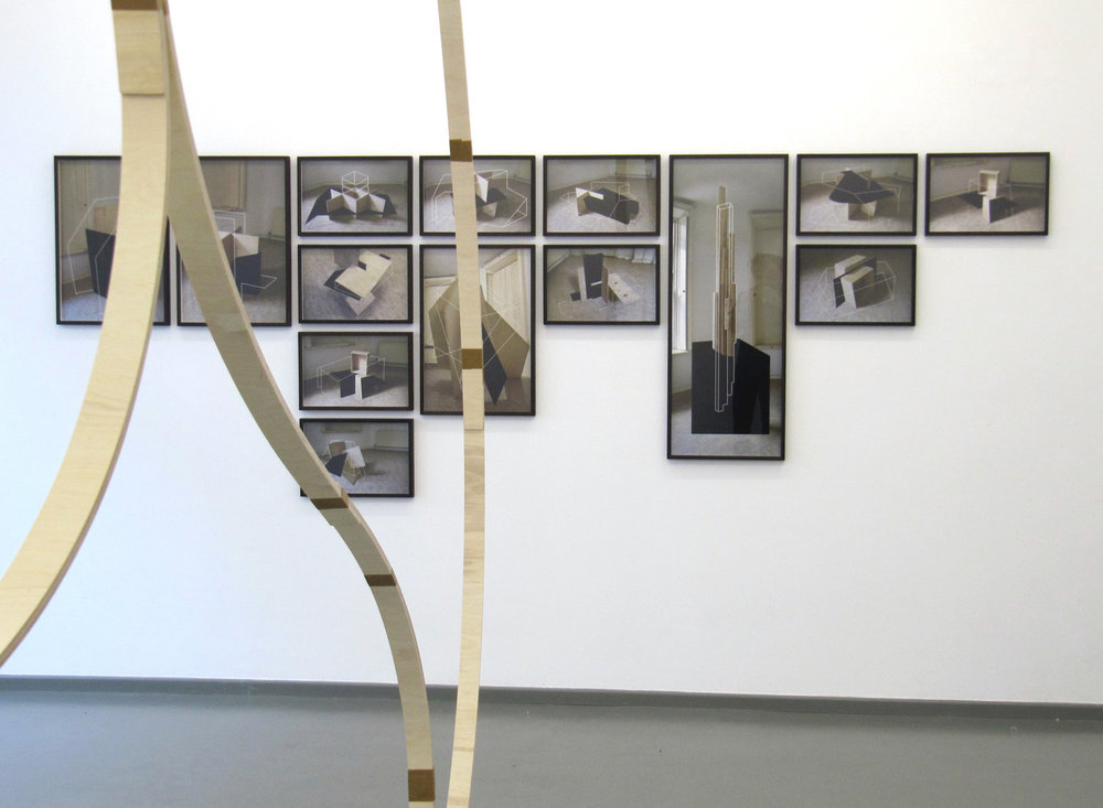 Companion Structures, 2013, color photographies, different sizes, Rasche Ripken, Berlin
