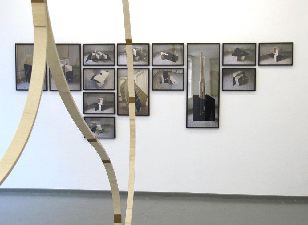 Companion Structures, 2013, Farbfotografien auf Baryt-Papier, verschiedene Maße, Rasche Ripken, Berlin