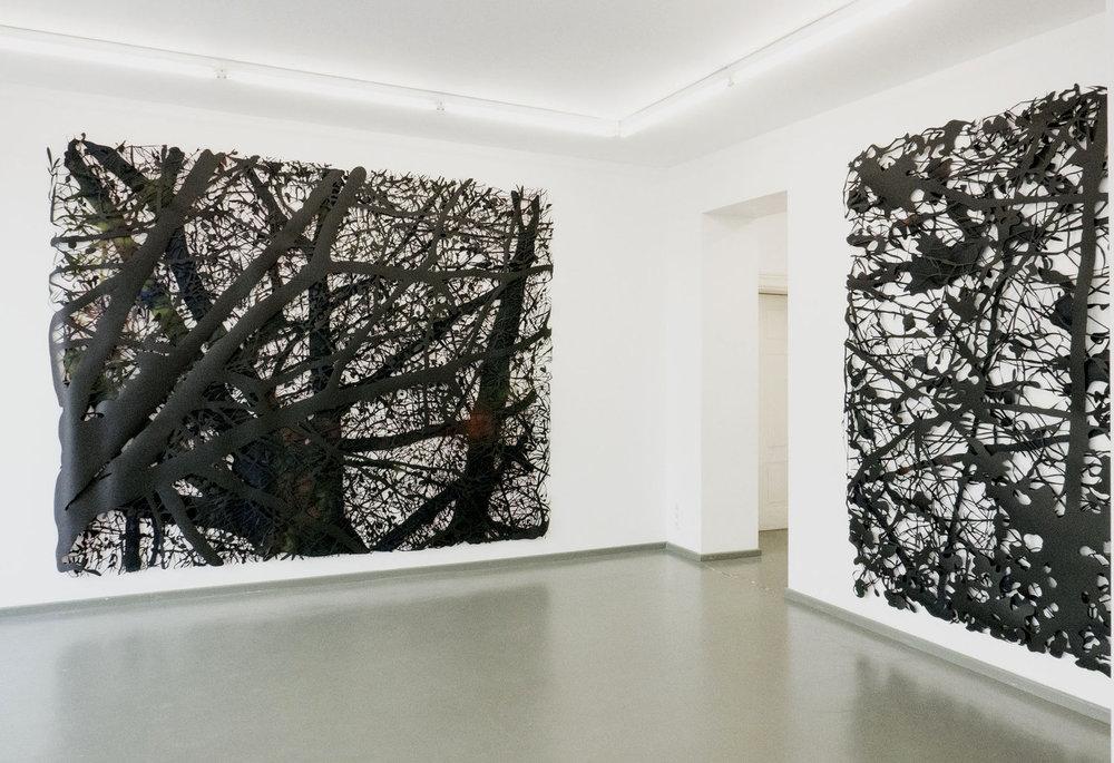 Ausstellungsansicht: hideout, 2016, Rasche Ripken, Berlin