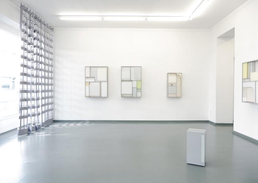 Ausstellungsansicht, 2018, Rasche Ripken, Berlin