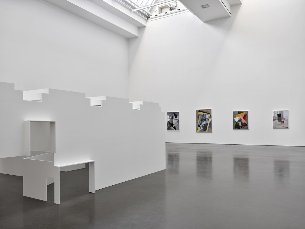 o.T., 2019, Installationsansicht Kunsthalle Düsseldorf, Foto: Achim Kukulies
