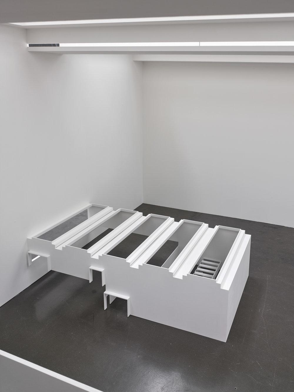 o.T., 2019, Installationsansicht Kunsthalle Düsseldorf Foto: Achim Kukulies