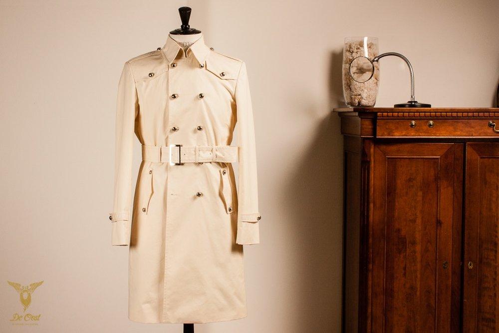 Maatwerk Trenchcoat Regenjas Vintage tailor made