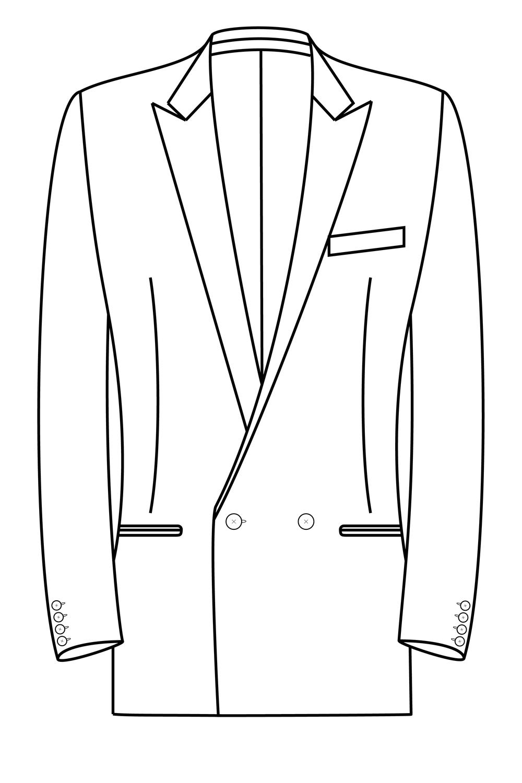 2x1 knoops peak lapel gepassepoileerde zakken pak jasje model kostuum colbert blazer.png