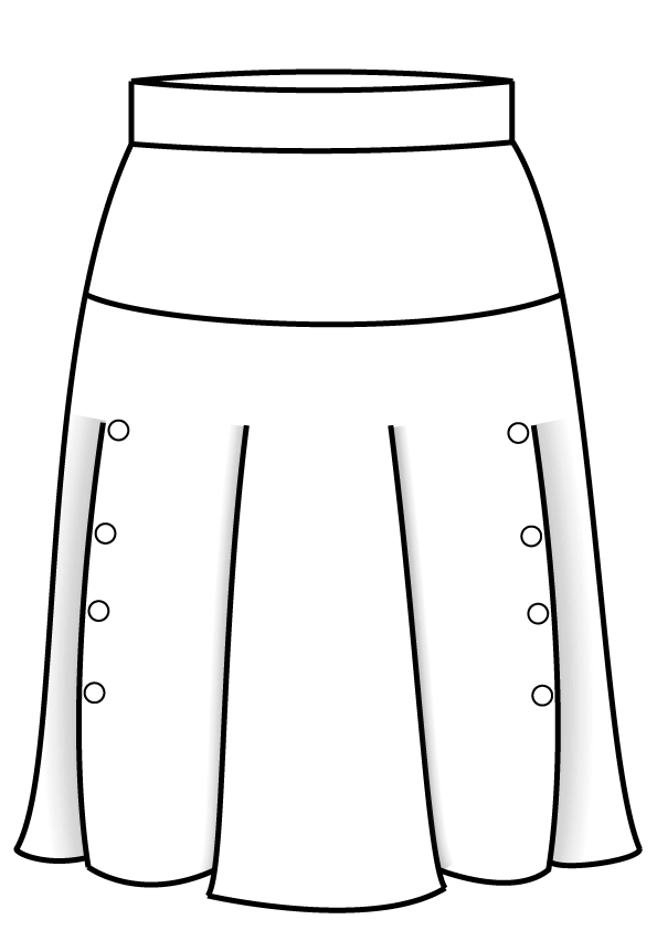 N19 Yoke Skirt dames rok pak bespoke tailor made amsterdam.png