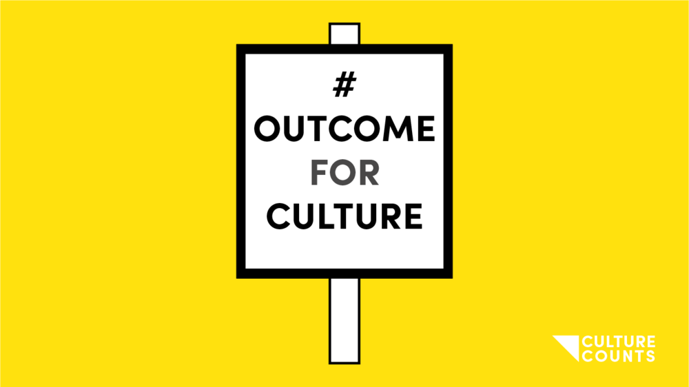 Tweet this. - Nullam sit amet nisi condimentum erat iaculis auctor. #OutcomeForCulture