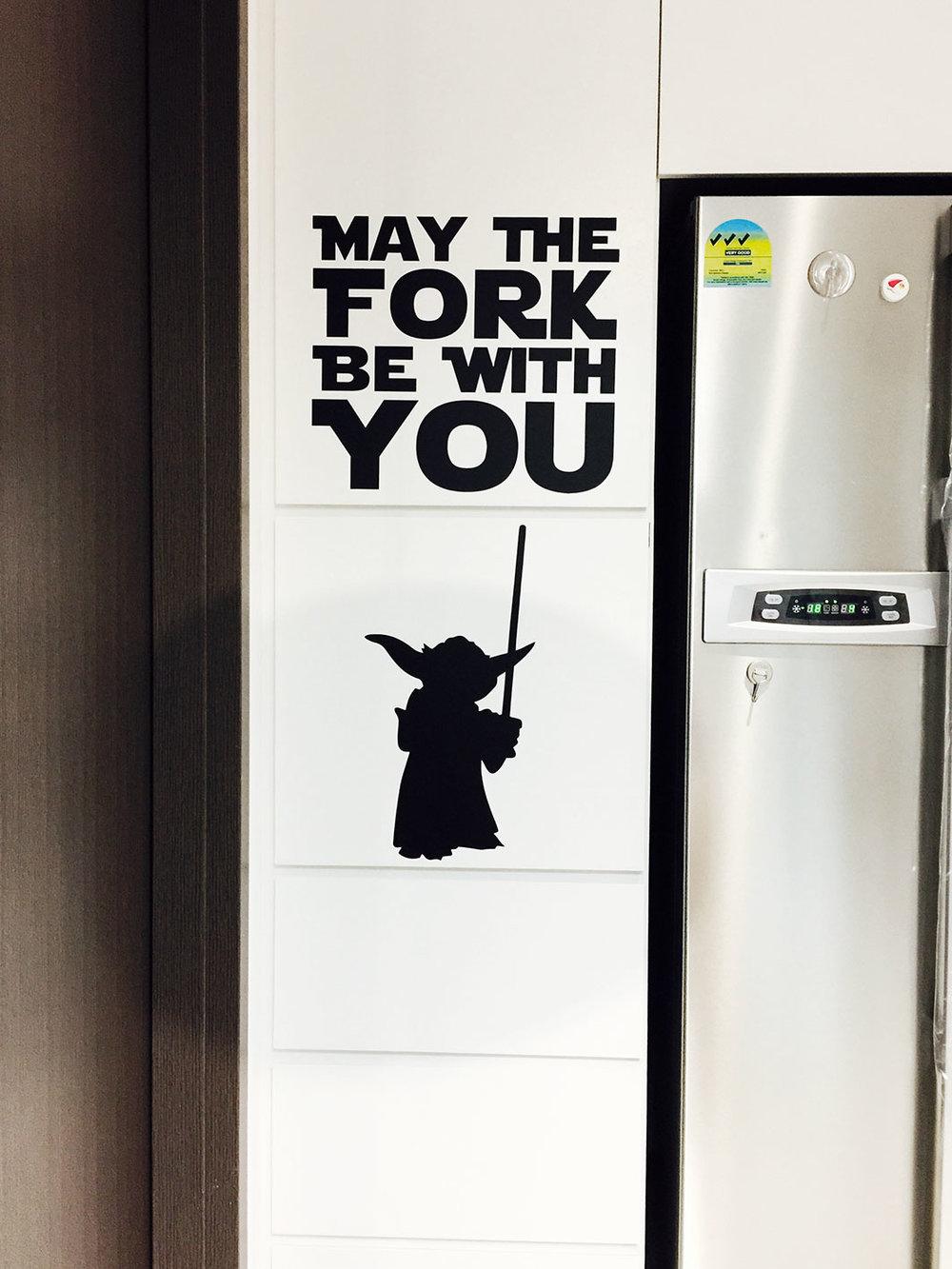 May the FORK be with you. EAT, YOU MUST.