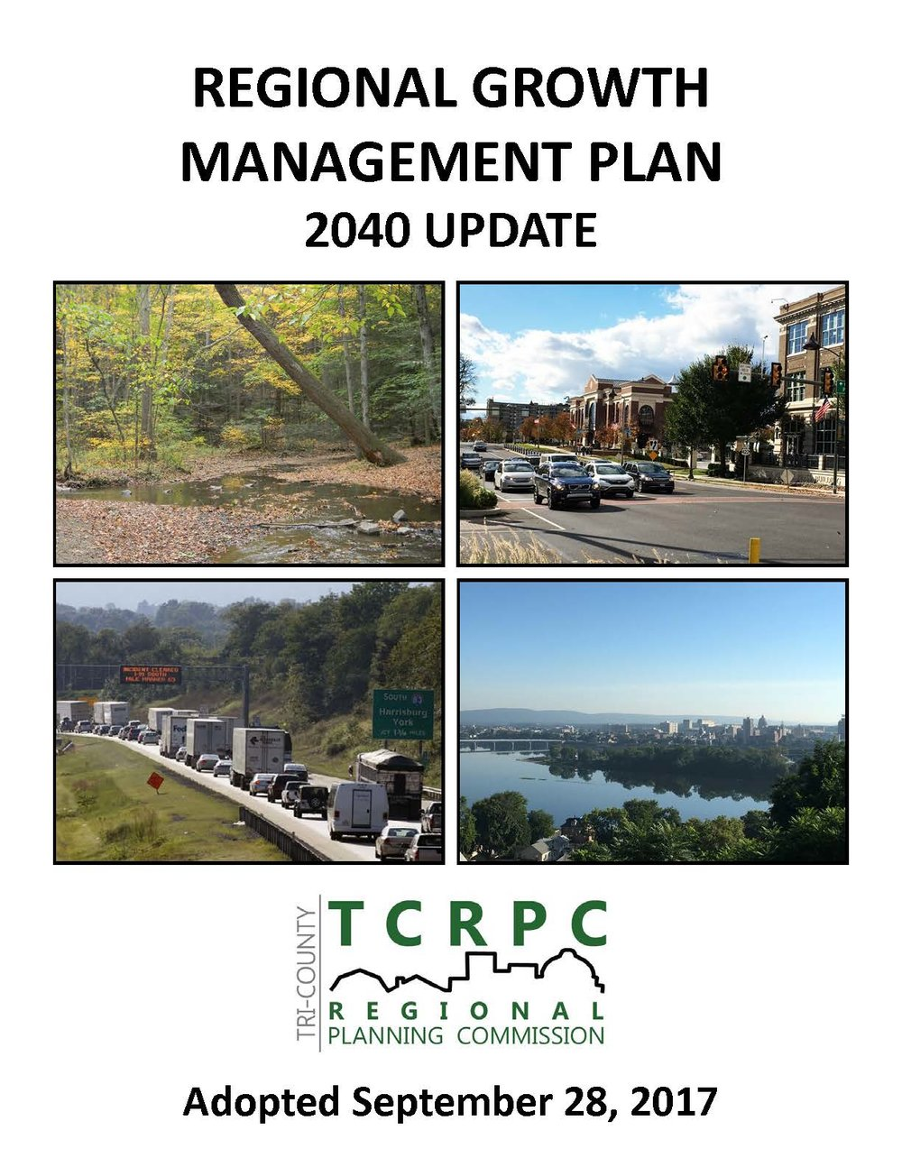 Click for Regional Growth Management Plan 2040 Update