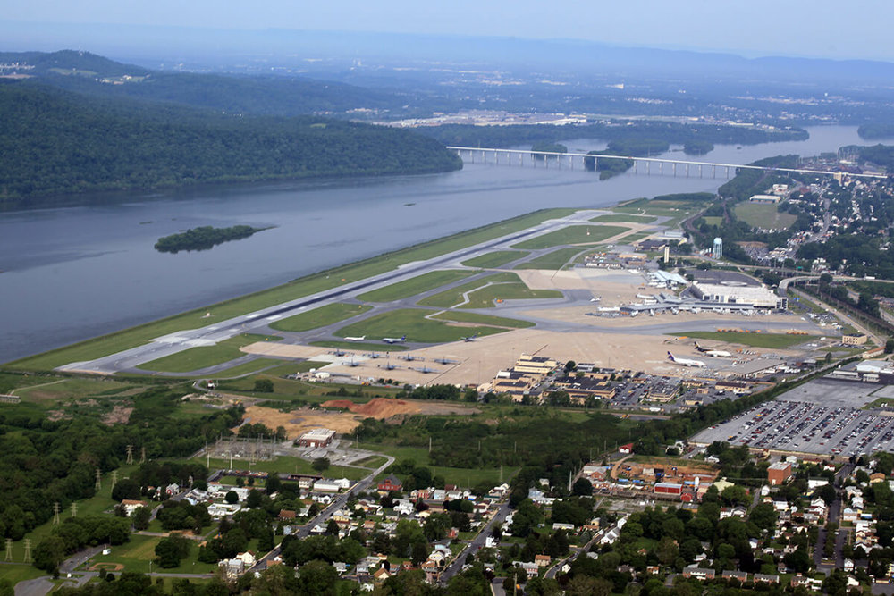 Harrisburg International Airport (courtesy Buchart Horn)