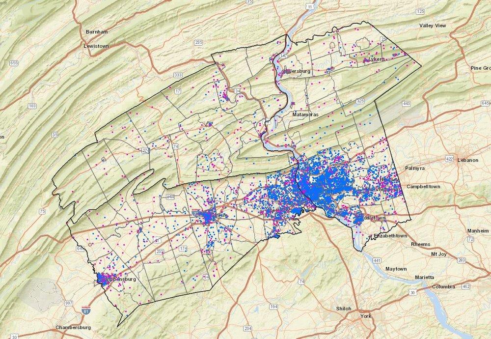 Environmental Justice interactive map application