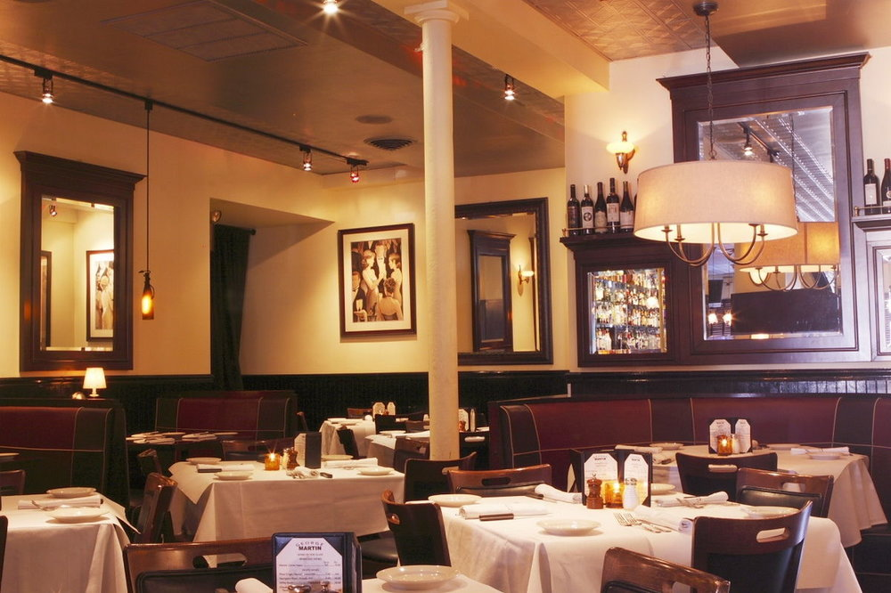 A photo of the dining room at GM The Original.