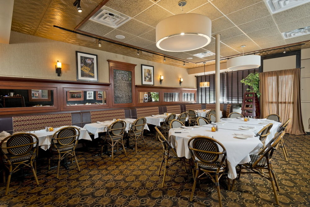 A photo of the Sidecar dining room at GM The Original.