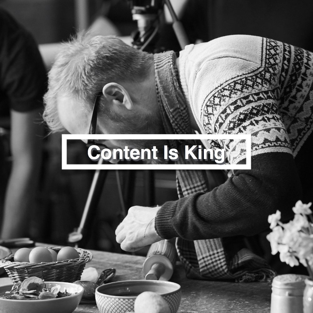 "Content Is King     Feb 2018   ""You can make a terrible film from a good script, however, you'll never, ever make a good film from a terrible script"" ...advice from our Creative Content Director, Tom's, career within the BBC."