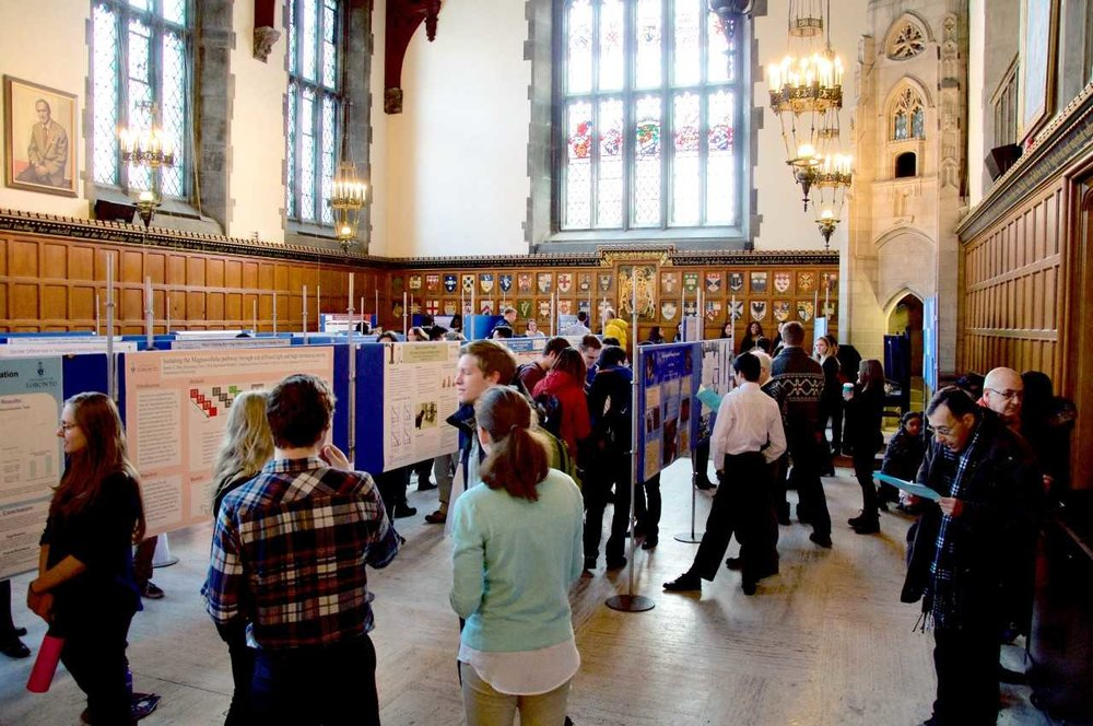 Inside the 2019 conference venue, Hart House, at the University of Toronto.