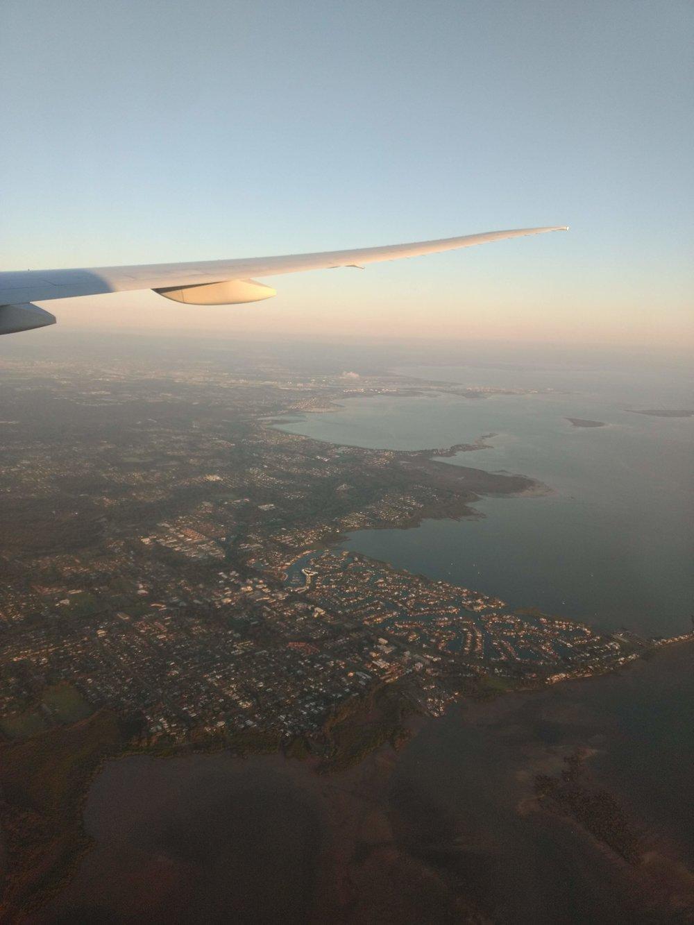 Australian coast (close to Brisbane)