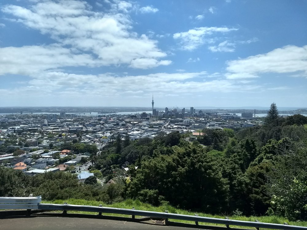 Downtown Auckland from Mt. Eden