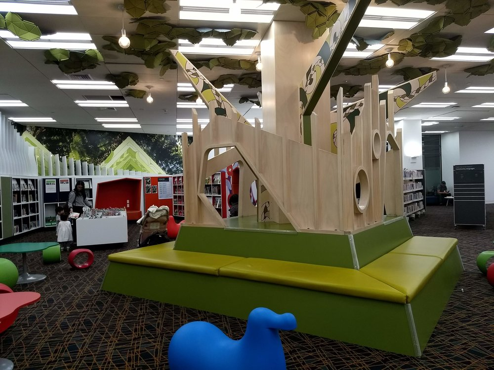 Kids space in the Auckland Public Library (could've stayed there for hours)