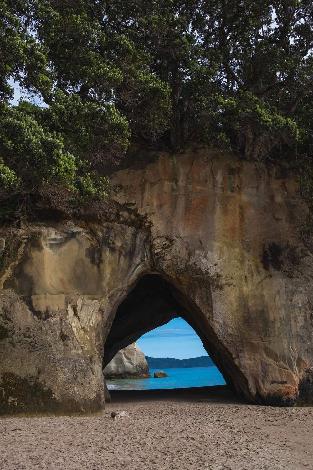 The Cathedral Cove! This is where Peter, Susan, Lucy, and Edmund appear!