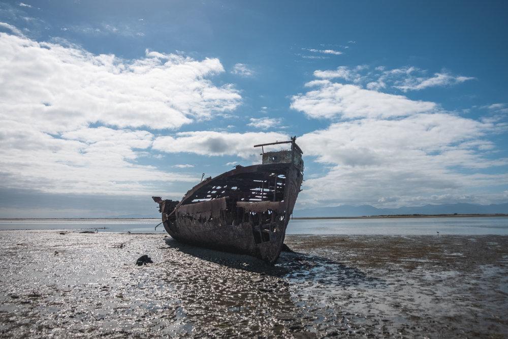 Shipwreck/abandonment
