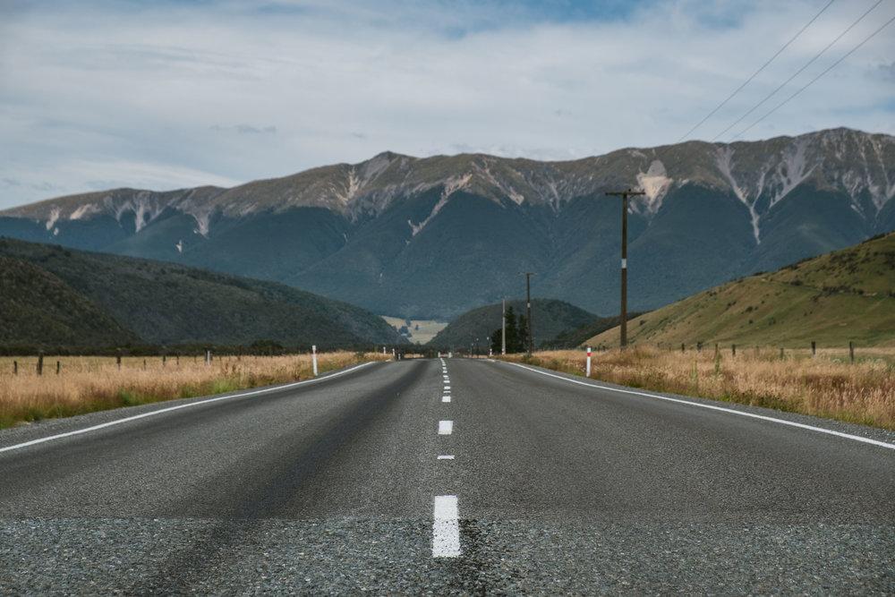 Beautiful NZ road.