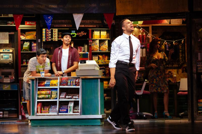 Philippe Arroyo as Sonny & Anthony Lee Medina as Usnavi & Blaine Krauss as Benny & Isabel Santiago as Daniela_photo by Os Galindo.jpg