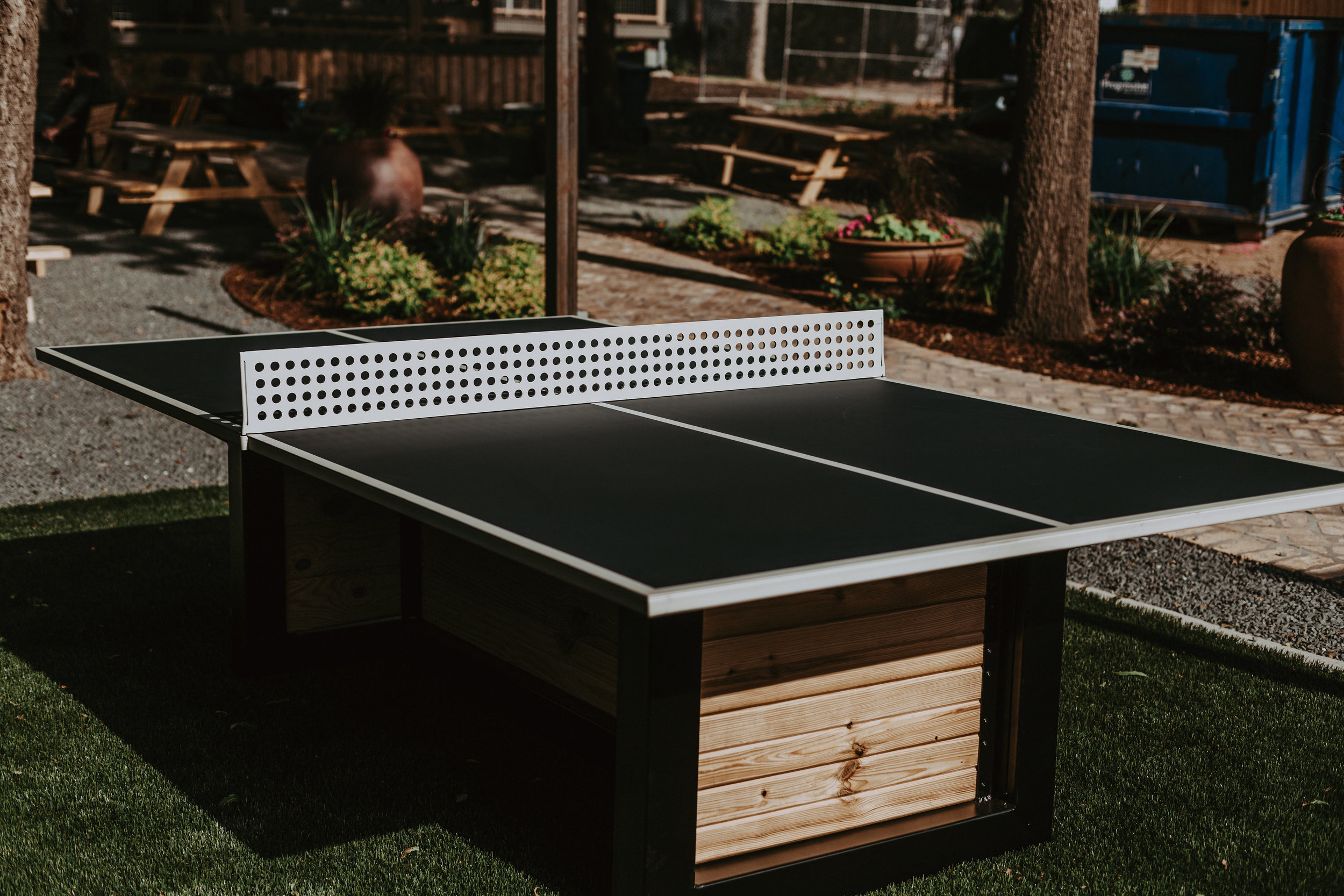 Outdoor Ping Pong Table ...