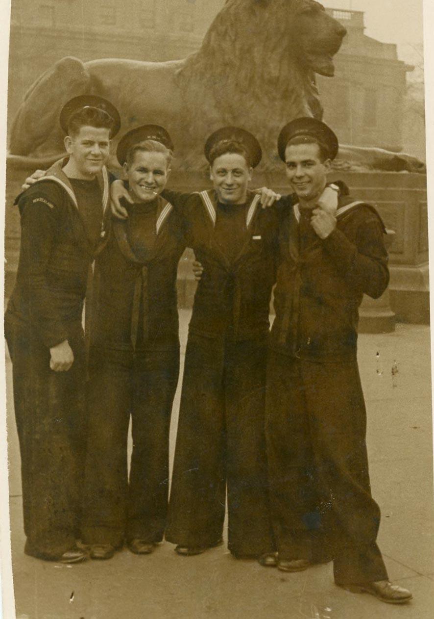 Bill Poole (New Zealand), Teddy Tucker, Ernest Dixon (South America), Frank Marshall (Bermuda)
