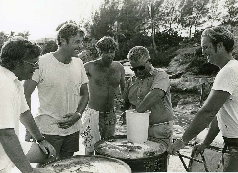 Peter Copeland, Peter Benchley and Beau Bridges