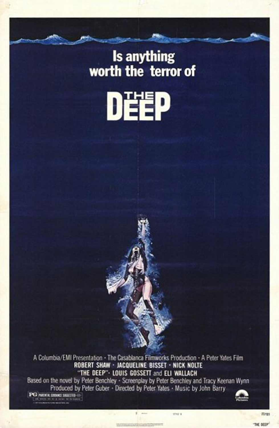 Movie poster for The Deep