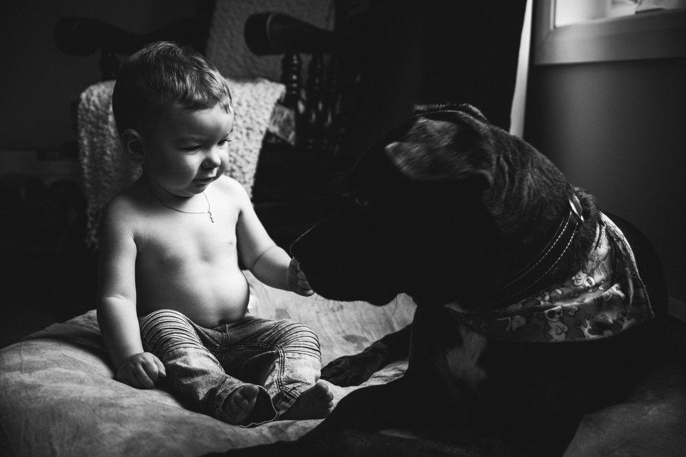 photo-noir-et-blanc-garcon-avec-chien-photographe-de-famille-a-domicile-montreal-victoriaville-enfant-lifestyle-63.jpg