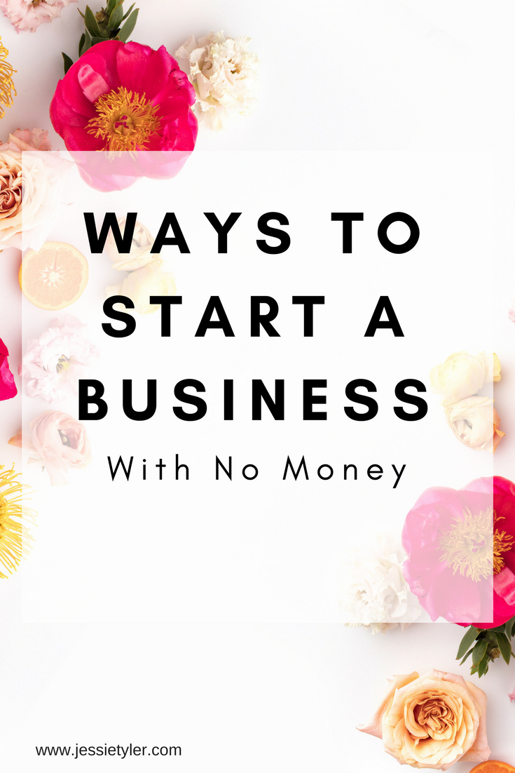 Ways to start a business with no money.png