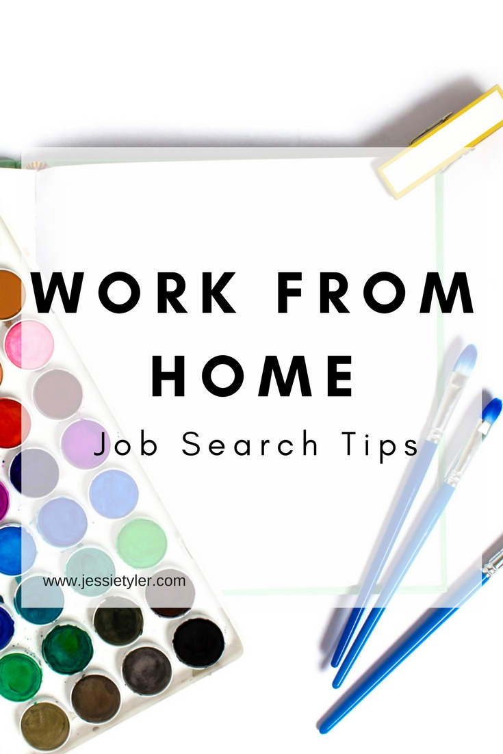 Work From Home Job Search Tips — Tyler Writing Services