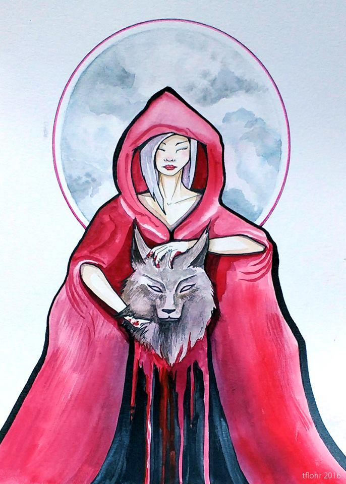 Red & Wolf- Vengeance
