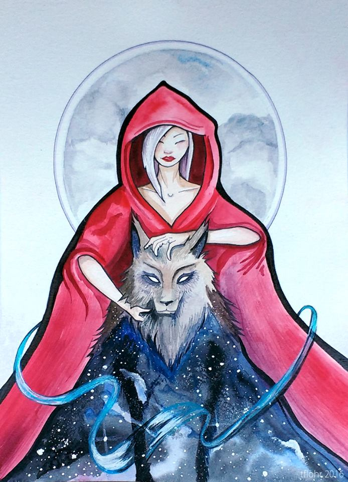 Red & Wolf- Healing