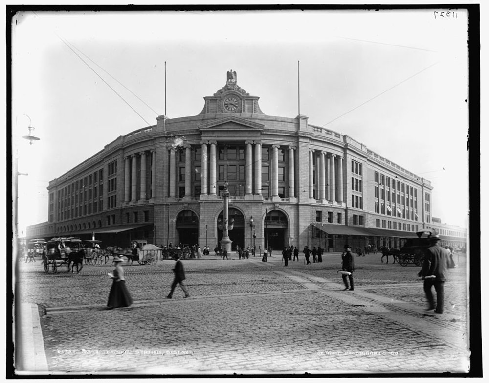 Detroit Photographic Co. South Station, 1899.