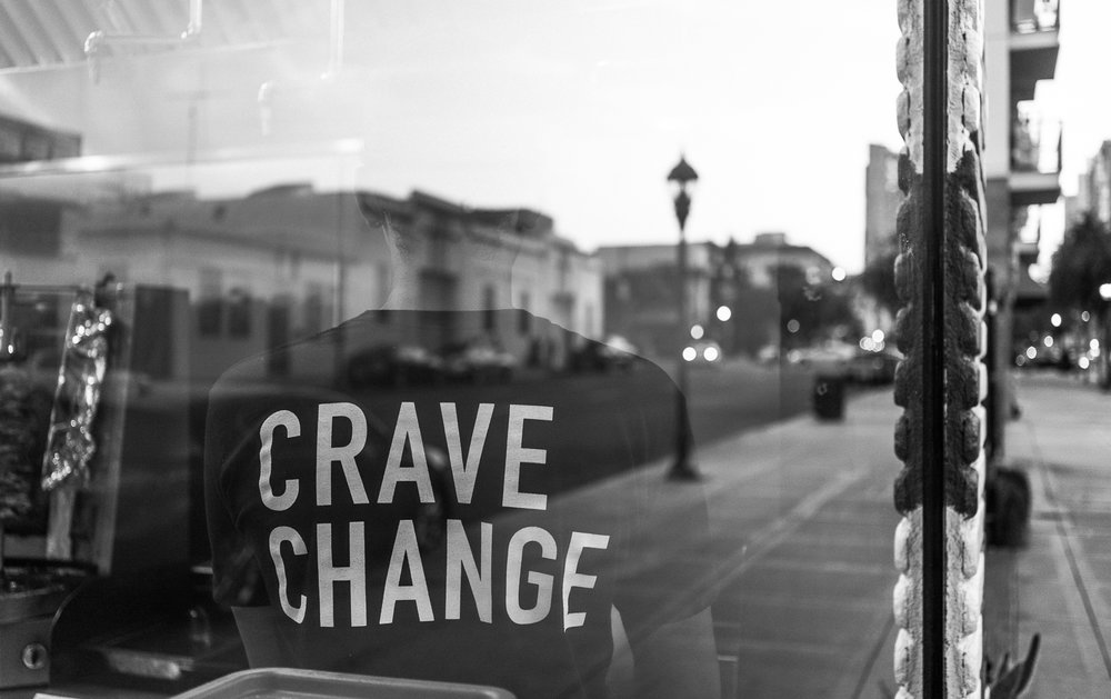 CRAVE CHANGE - Restaurant and BTS photography commissioned by The Kebab Shop as part of a rebranding campaign. Content was used for website and social media. See the video here. | San Diego, CA.