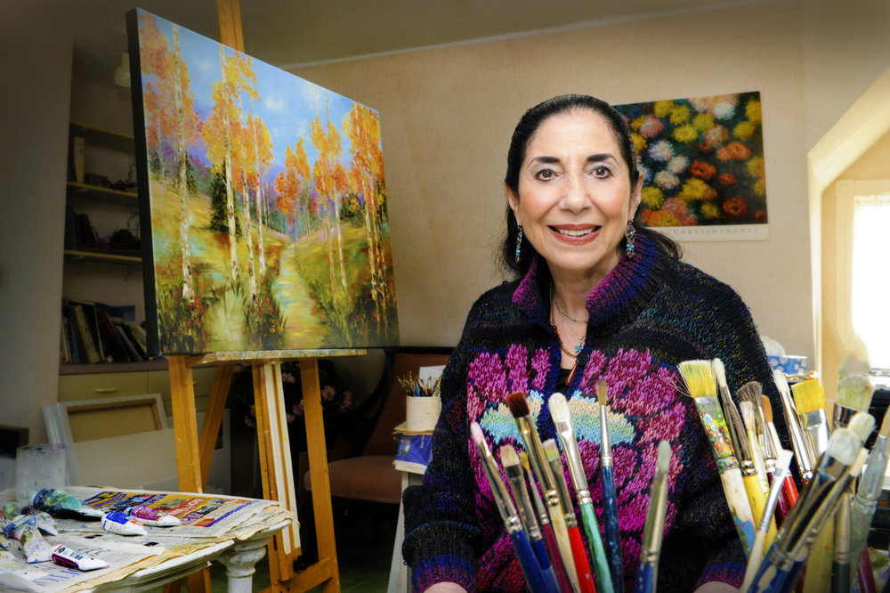 'Colour Me Happy: A Glimpse into the Wonderful World of Artist Angie Strauss'    Today Magazines' cover story on Angie Strauss can be viewed below:    http://www.today-magazine.com/people-events/colour-happy-glimpse-wonderful-world-artist-angie-strauss/