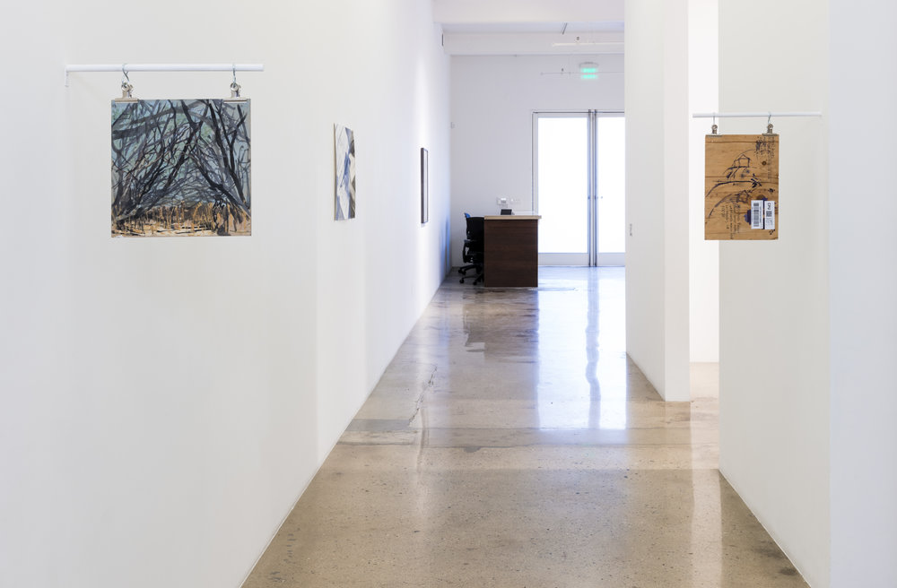 "2018 21 July - 25 August  ""Through-Line: Drawing & Weaving by 19 Artists""  Steve Turner, Los Angeles, CA"