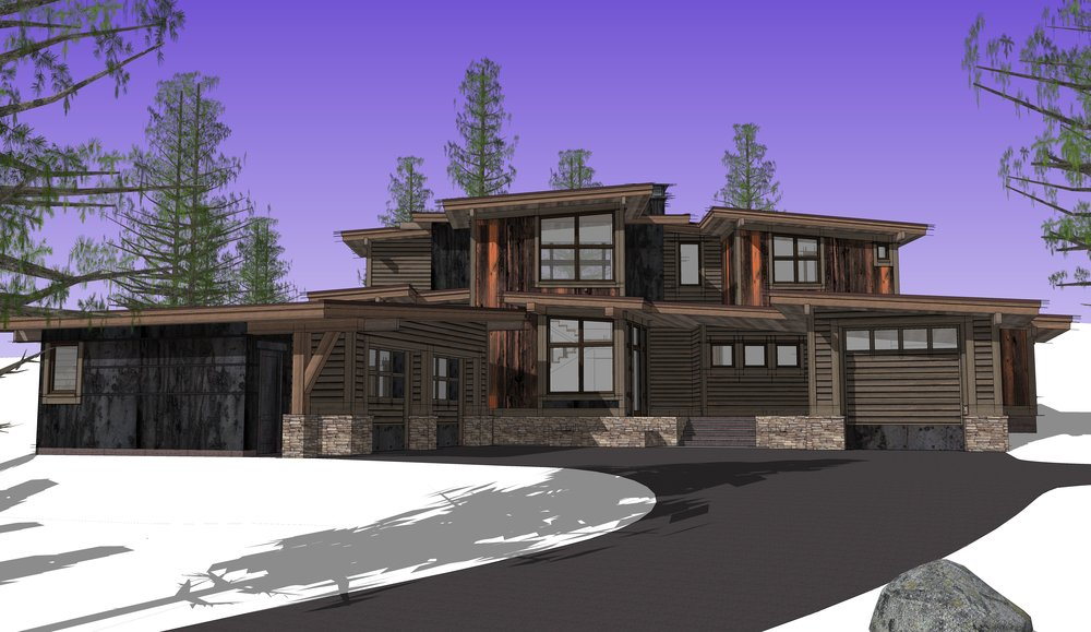 3d and why - Throughout my process, I use unique tools to collaborate with you and your contractor. The use of Sketchup as the design medium, helps you visualize your dream from the initial parti to the virtual evolution of the executed design.
