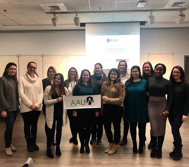 We had a great time at our Negotiation Workshop today with Professor Wendy Zajack and our friends from @georgetownwise #proudtobegwib #ladyboss @aauwnational