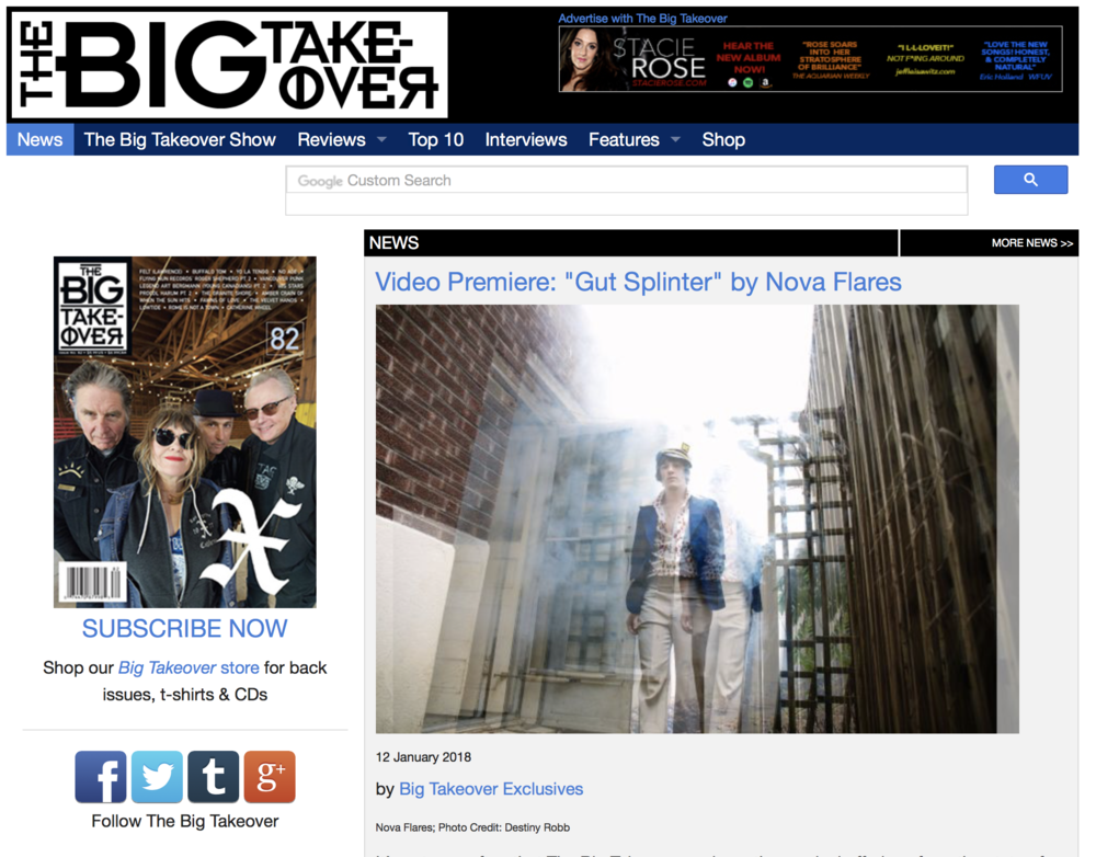 The Big Takeover (NYC) : Nova Flares Debut Review
