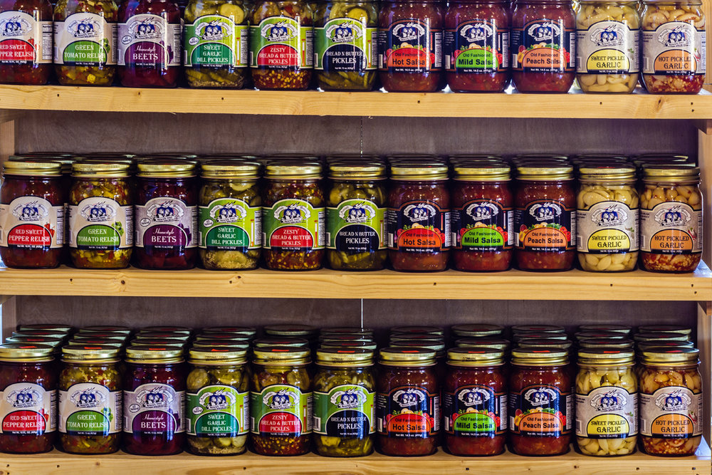 Organic jams, Reston Farm Market, VA