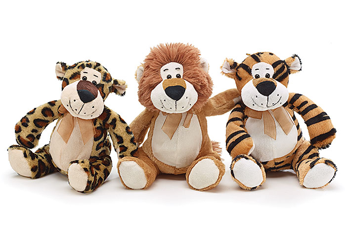 Plush Jungle Animals — Sienna Blue Co.