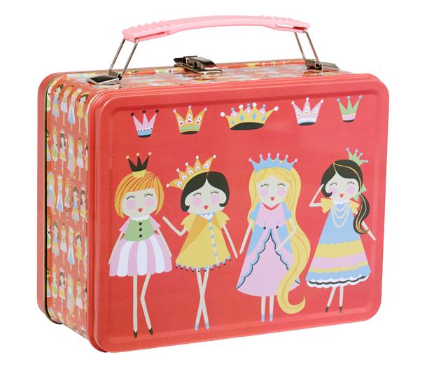 Princess Good Retro Metal Lunch Box