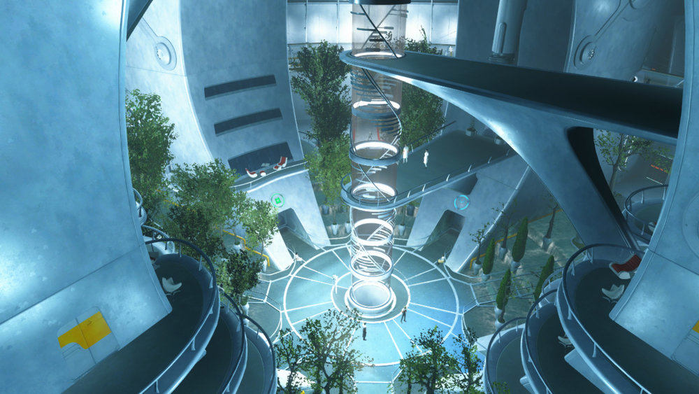 The Institute main area via  Escapist Magazine